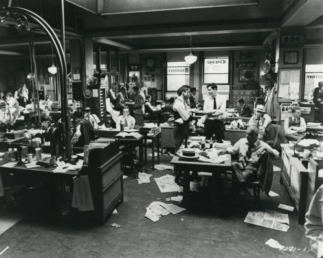 The Front Page Newsroom