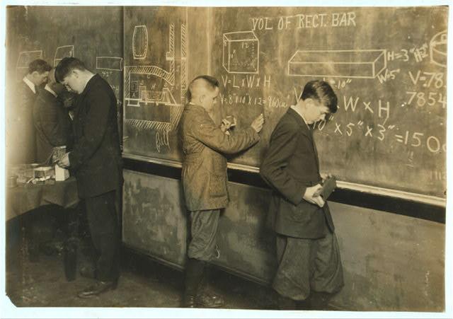 math-class-1916